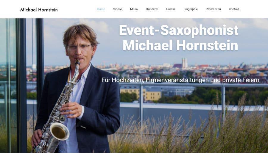 Michael Hornstein - ganzVORNE Kunden - Online Marketing Beratung und Webseiten München und Starnberg