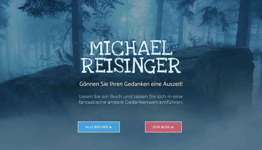 Michael Reisinger Buchautor - ganzVORNE Kunden - Online Marketing Beratung und Webseiten München und Starnberg