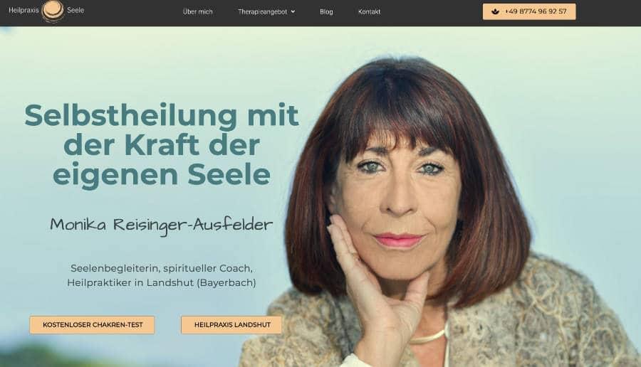 Heilpraxis Seele Landshut - ganzVORNE Kunden - Online Marketing Beratung und Webseiten München und Starnberg